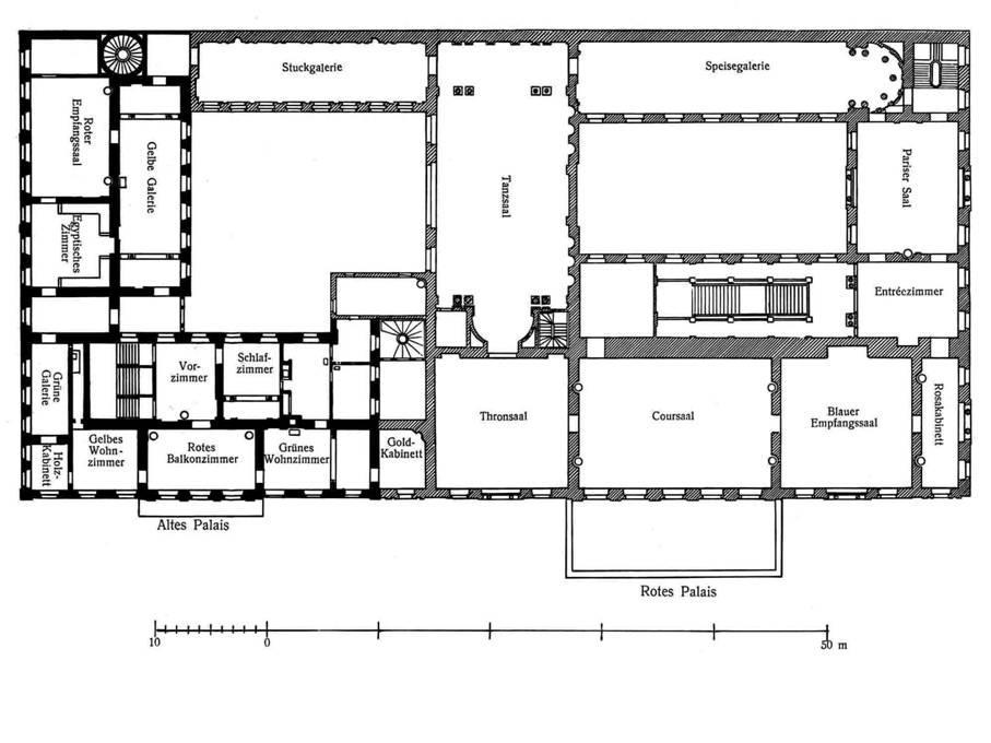 christian presche das hintergrundbild ist eine ansicht des coursaals gr nen empfangsaals im. Black Bedroom Furniture Sets. Home Design Ideas